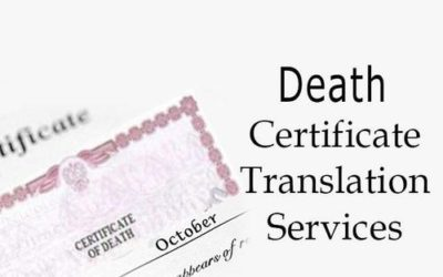 Death Certificate Translation Services